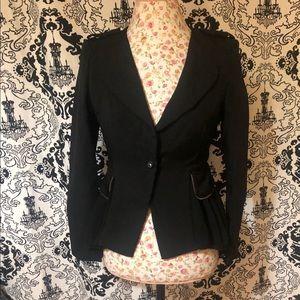 Shi Long Fashion Jackets & Coats - Beautiful Black Shi Long Fashion Blazer